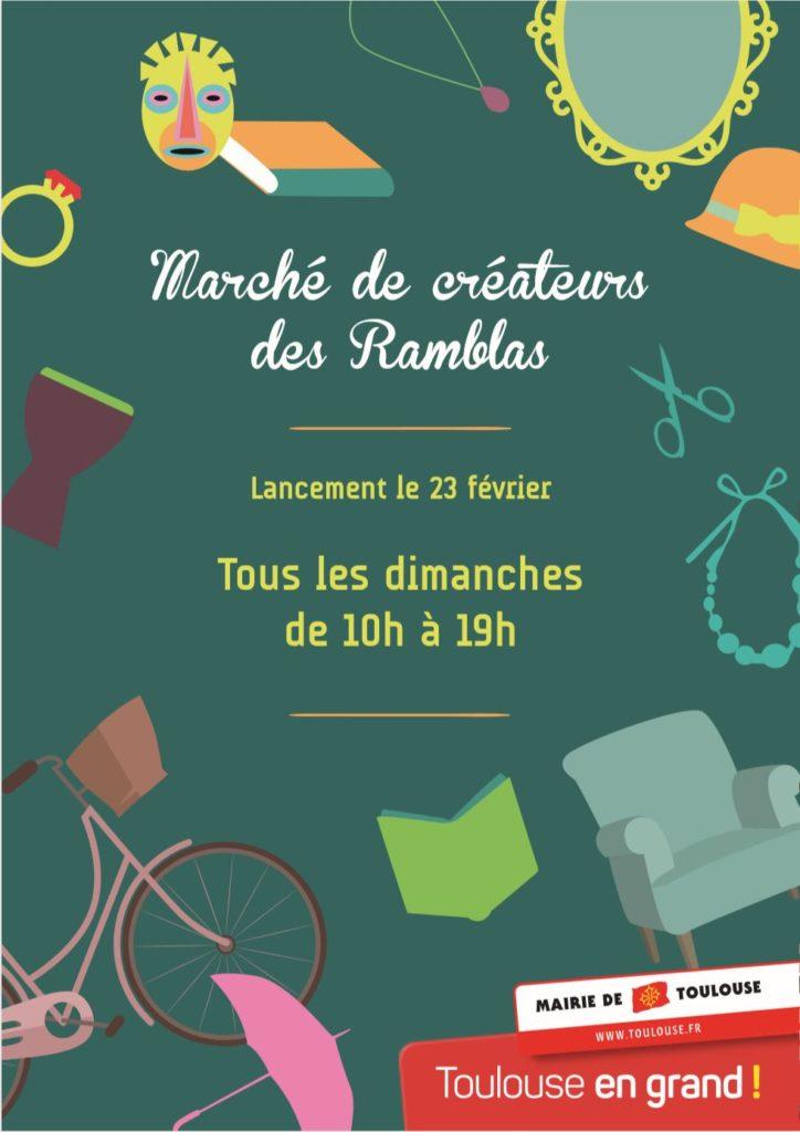 Marché des Ramblas de Jean Jaurès – Un Dimanche par mois !