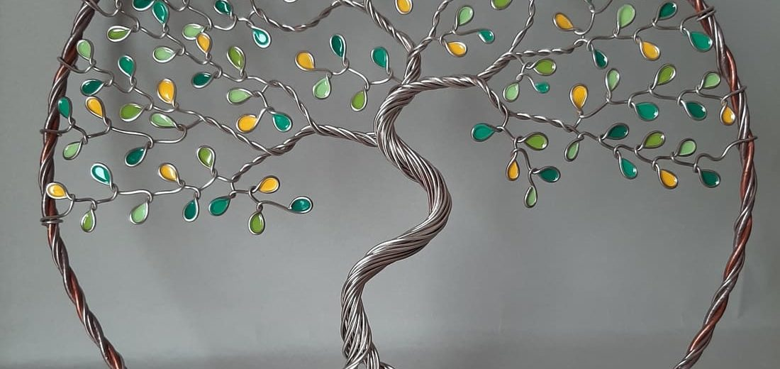 sculpture Arbre de vie olivier